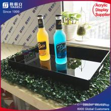 KTV Acryl Serviertablett für Lebensmittel / Barware