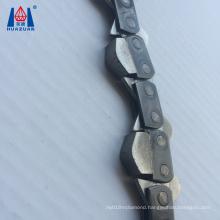 Very sharp diamond chain saw for stone