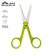 Tesoura de cabeleireiro cerâmica em 2 polegadas para cortador de barbeiro