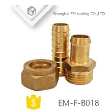 ЭМ-Ф-B018 наружной резьбой латунные трубы штуцер адаптера