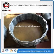 Tel 008615716988924 suministro de buena calidad de afeitar alambre de púas alambre de afeitar