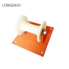 Rouleau de terre de câble avec support de plaque d'acier