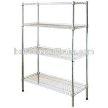 Stainless steel kitchen storage rack/metal storage rack