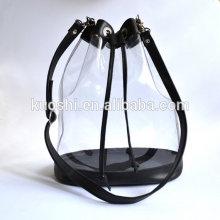 PVC clear drawstring bag