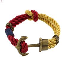 2017 pas cher sport mince boucle magnétique rock and roll double chaîne bracelet