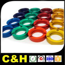 CNC Tournant Aluminium Al7075 / Al6061 / Al2024 / Al5051 Pièce en aluminium usinée par Turning Center