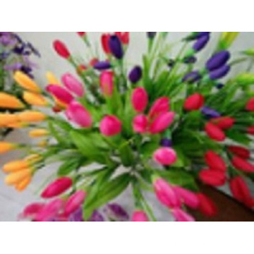Factory Direct Sale Artificial Flowers Colorful Yulan Magnolia Flowers