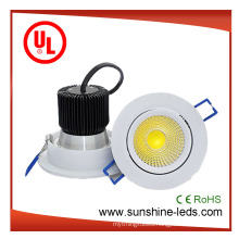 6W/10W/15W/20W/30W LED Round /Rectangular /Recessed LED Downlight