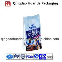 Бортовые мешки алюминиевой фольги Упаковывая для кофе с ziplock