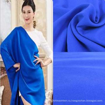 Однотонная ткань из спандекса и вискозы для женских платьев