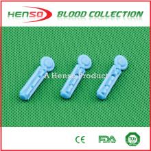 Henso Sterile Blood Lancets descartável e uso médico