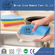 Printed Kitchen Application Cleaning Wipes Spunlace Nonwoven Fabric