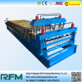 Double Layer Roller Former Roofing Sheet Machine