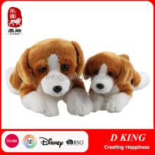 Pelúcia Animal Toy Beagle Soft Stuffed Toy Dog