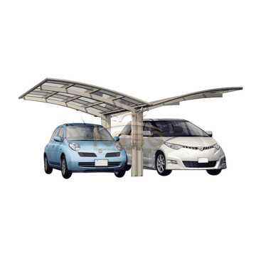 Lean Frame Fiberglass Roof Metal Lukket Carport Kit