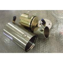 Двойной пневматический привод с поворотной заслонкой