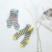 Moda Stripes Designs Cute Kid Medias / Medias Niño Little Girl Pantyhose Collares de algodón