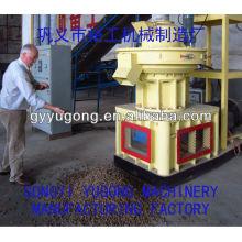 Machine à fabriquer des pastilles de bois, Machine à granulés de sciure de bois, Machine à granulés à la biomasse