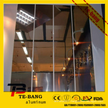 mirror finish polished aluminum mirror sheet/parabolic aluminum mirror sheet/reflector aluminum sheet for lighting for roofs