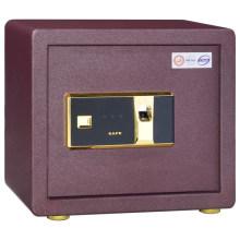 Toda a segurança pequena da parede pequena de aço segura a caixa segura da impressão digital da bateria