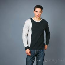 Мужская мода Кашемир Смесь свитер