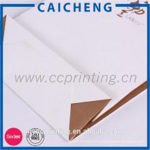 Перерабатываемые стиль роскошь напечатанные подарка изготовленный на заказ бумажная хозяйственная сумка