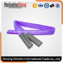 Ce Approved Flat Eye Duplex Webbing Sling Safety Factor 6: 1