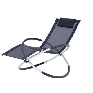 Foldable Alumimun rocking chair