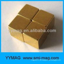 Vergoldeter Neodym-Magnet