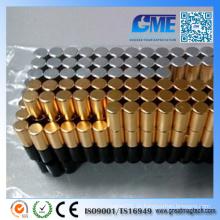 N42 D6X12mm Seltener Erdzylinder Magnet