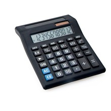 12 Digits Dual Screen Big Size Desktop Calculator