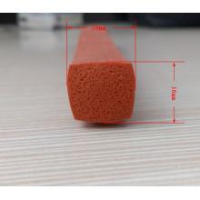 Gaxeta de esponja resistente ao frio do silicone da borda do armário do refrigerador