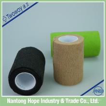 Hochwertige farbige wasserdichte selbstklebende elastische Bandage