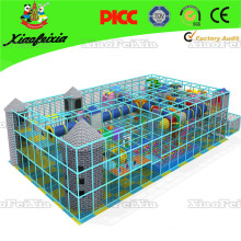 Rectangle Safety Used Indoor Playground with Net