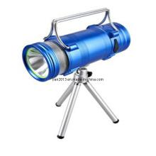 Lampe de pêche rechargeable en aluminium à LED 3.7V