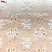 Tecido de algodão profissional impresso para roupas de bebê