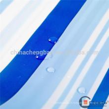 Rideau transparent à pvc imperméable à l'eau de la salle de bains