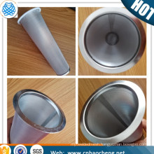 100 micron 150 micron stainless steel cold brew coffee maker filter coffee brewer