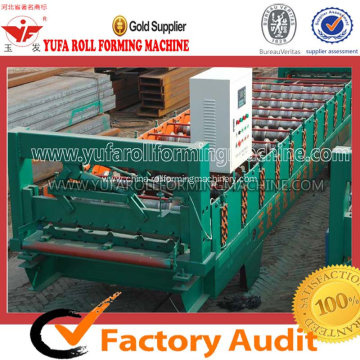 Roof panel making machine