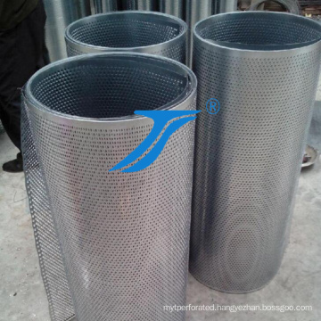Round Hole Perforated Metal Mesh, Hole Punching,