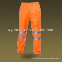 Pantalones impermeables de seguridad