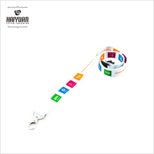 Sublimación de todo color impreso cordones sin MOQ