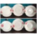 18шт персонализированный дизайн квадратный набор фарфора ужин