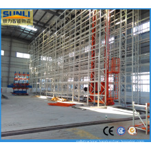 Automated as/RS Shelving Rack System with Stacker