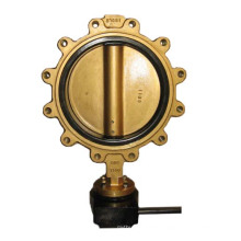 Ductile Iron Lug Type Butterfly Valve Pn16