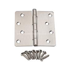 American style round corner steel door hinge