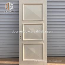 White WPC mdf wood board door skin Contemporary Interior Door