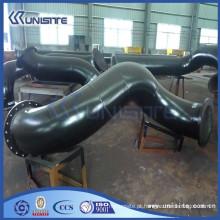 Tubo de jato de água de aço personalizado para a draga de funil de sucção de dragagem (USC3-009)