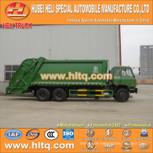 DONGFENG 6x4 16/20 m3 heavy duty compressed refuse truck diesel engine 210hp with pressing mechanism