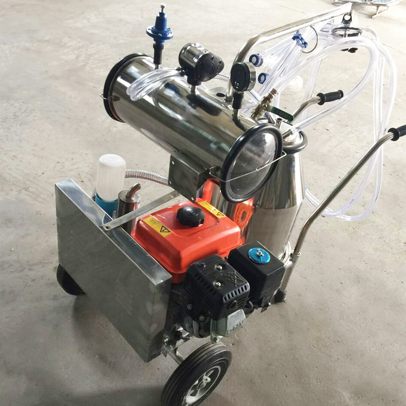dual motor milking machine